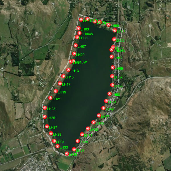 Lake Hayes Predator Free Traps Map